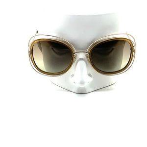 Chloe Carlina CE 123S 743 Gold Sunglasses